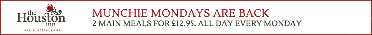 Munchie Mondays are back, 2 meals for £12.95
